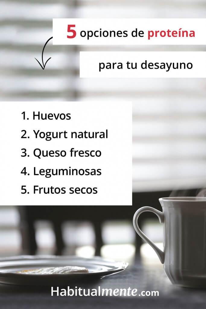 Incluye un súper desayuno nutritivo en tu día con 5 pasos