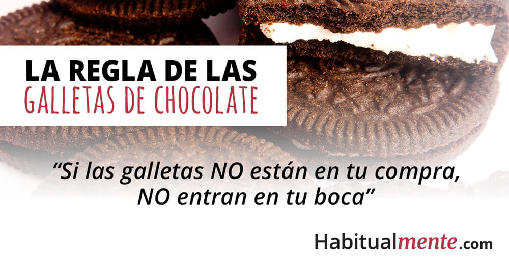 la regla de las galletas de chocolate