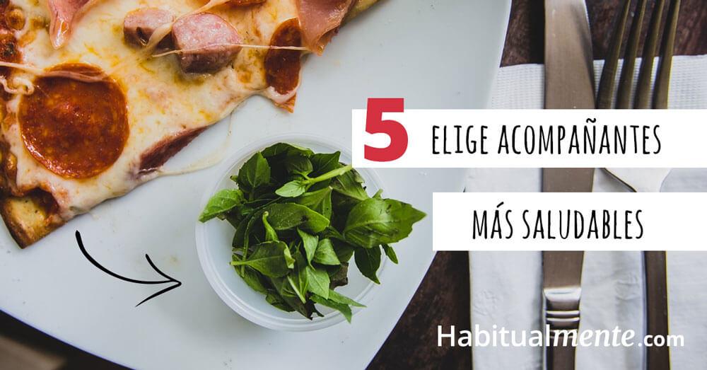 5 elige acompañantes mas saludables
