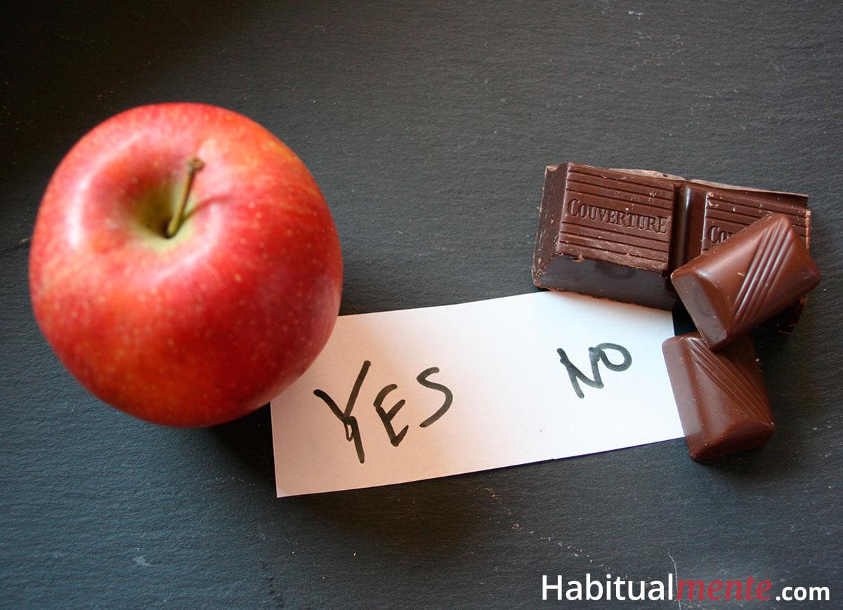 Aumenta tu fuerza de voluntad y evita las malas decisiones