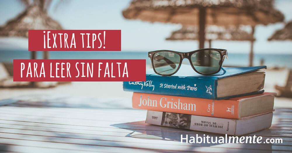extra tips para empezar a leer sin falta a partir de hoy