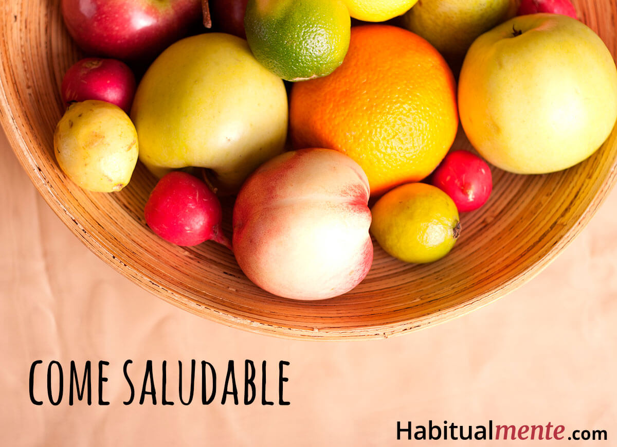 Cambia el ambiente y mejora tus hábitos de alimentación.