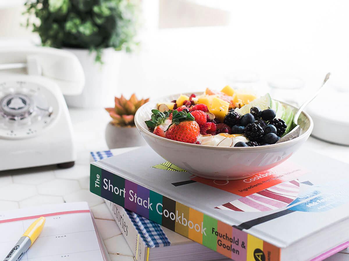 lista de alimentos de estilo de vida saludable