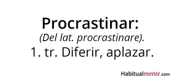 ¿Es tan malo procrastinar?