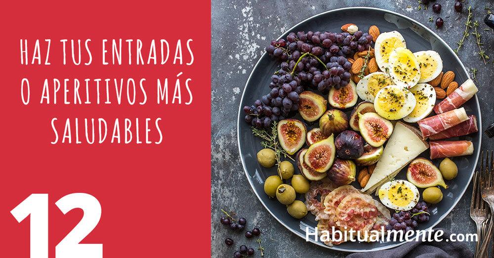 12 aperitivos saludables