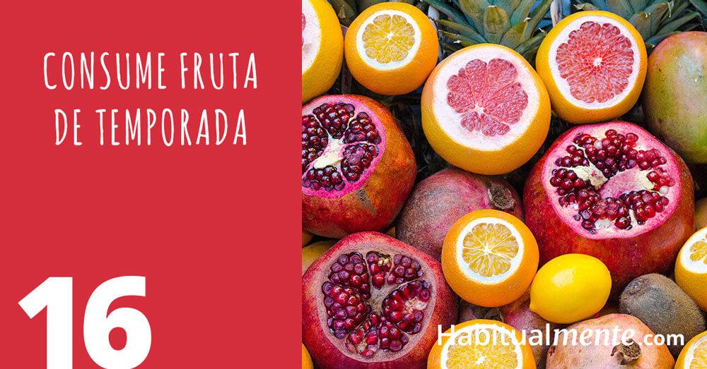 16 consume fruta de temporada