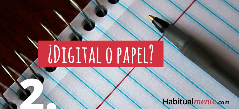 paso 2 digital o papel