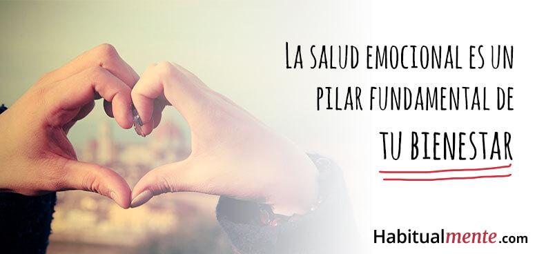 la salud emocional es un pilar fundamental de tu bienestar