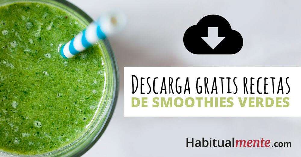 descarga gratis recetas de smoothies verdes