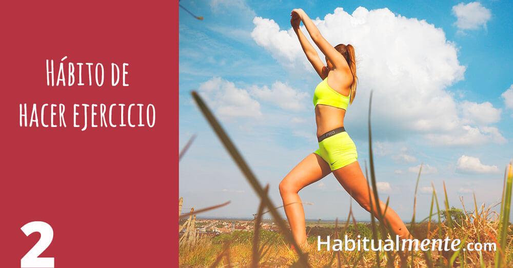 2 habito de hacer ejercicio