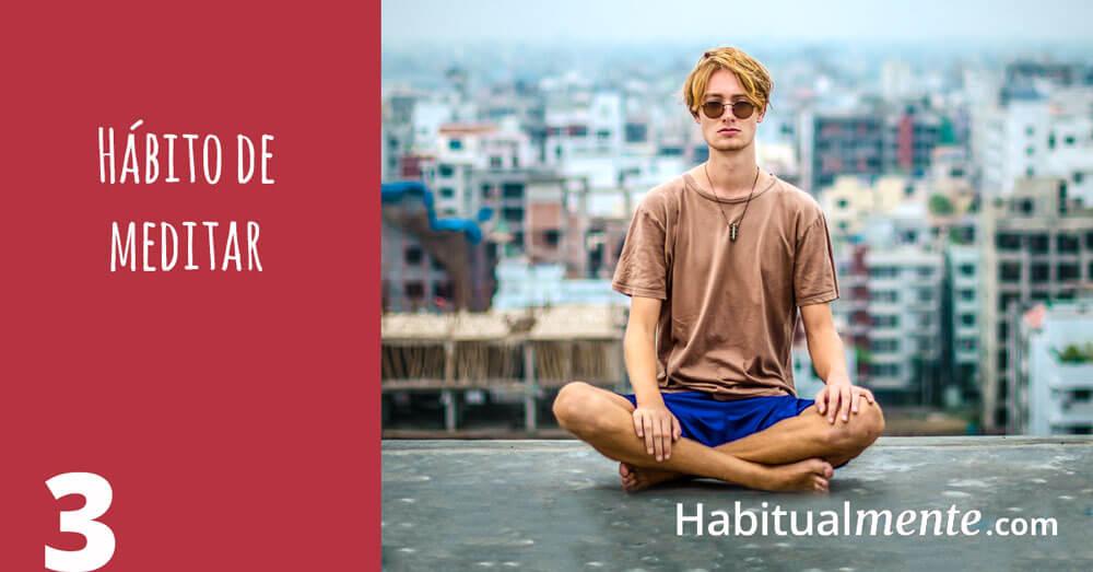 3 habito de meditar