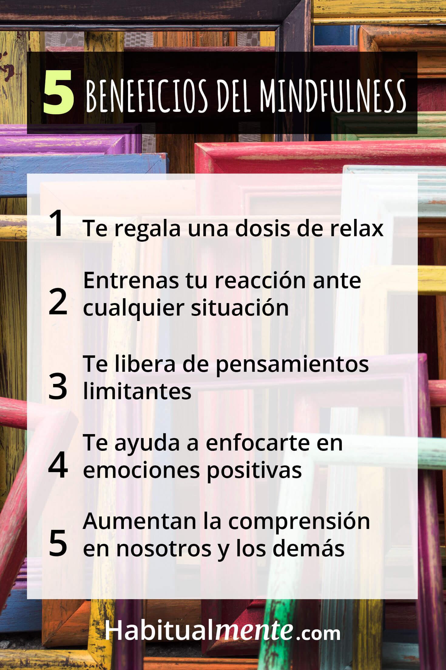 5 beneficios del mindfulness