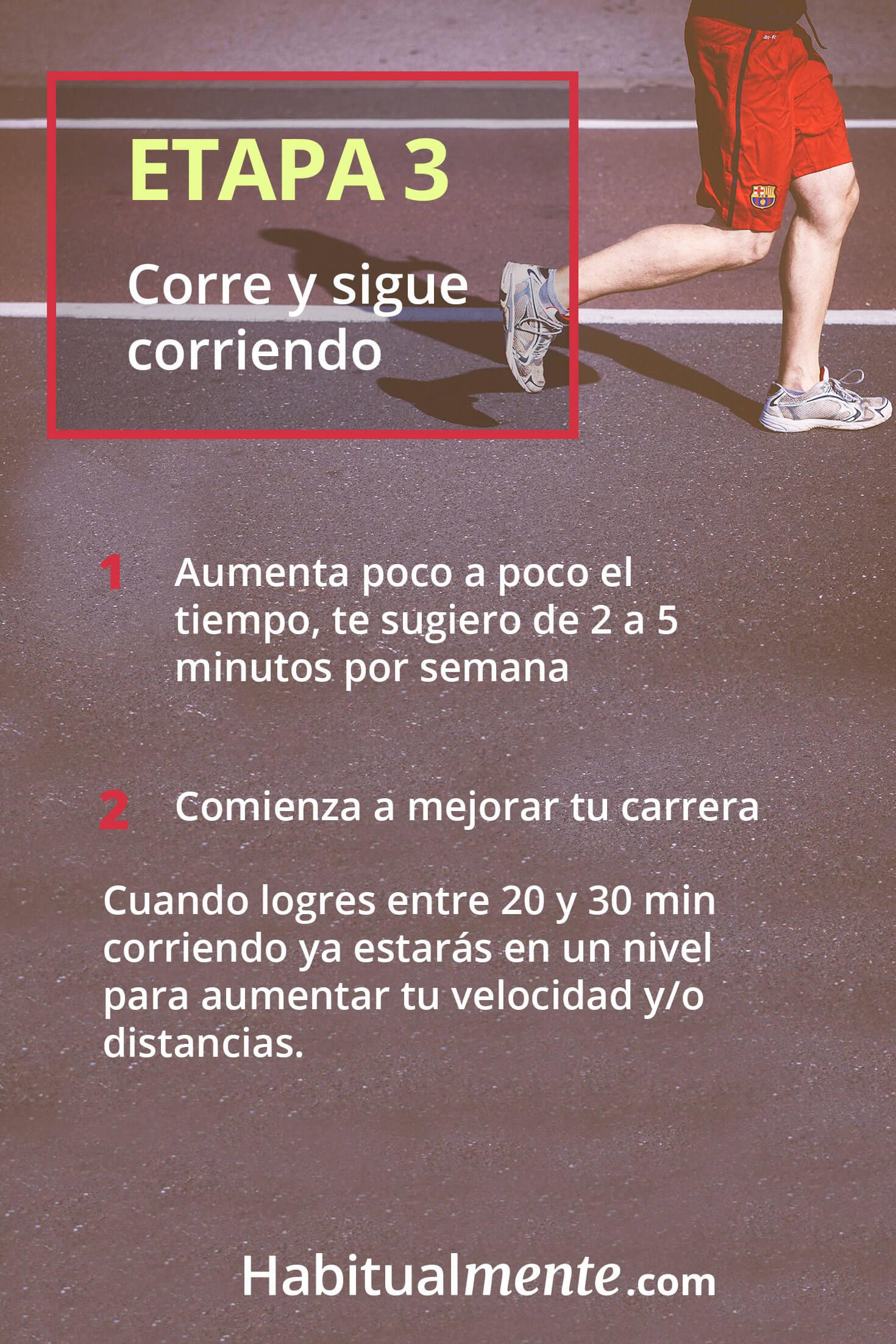 Cuanto correr a la semana para bajar de peso