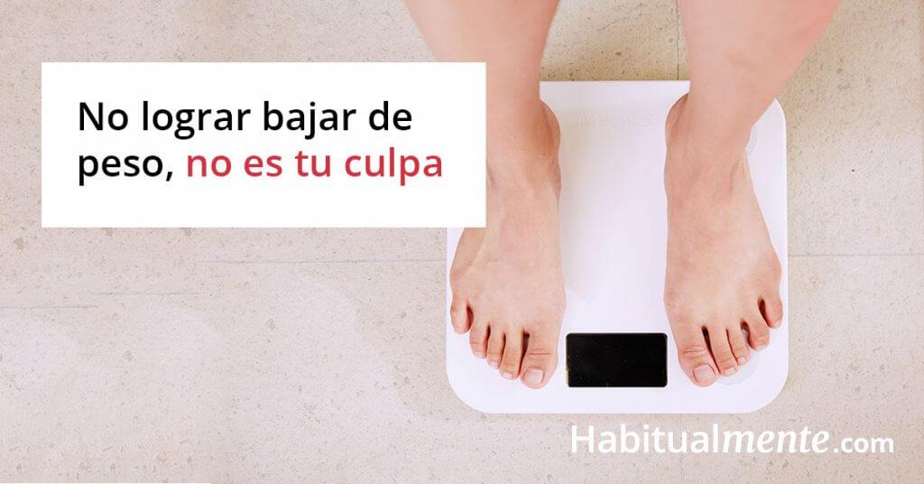 Metas para lograr bajar de peso